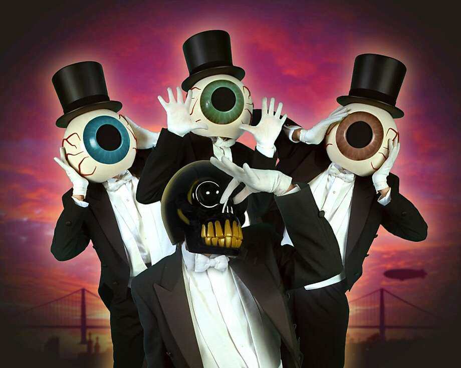 Since the 1970s, the Residents have made challenging music while keeping their identities secret. Photo: JP Cutler Media