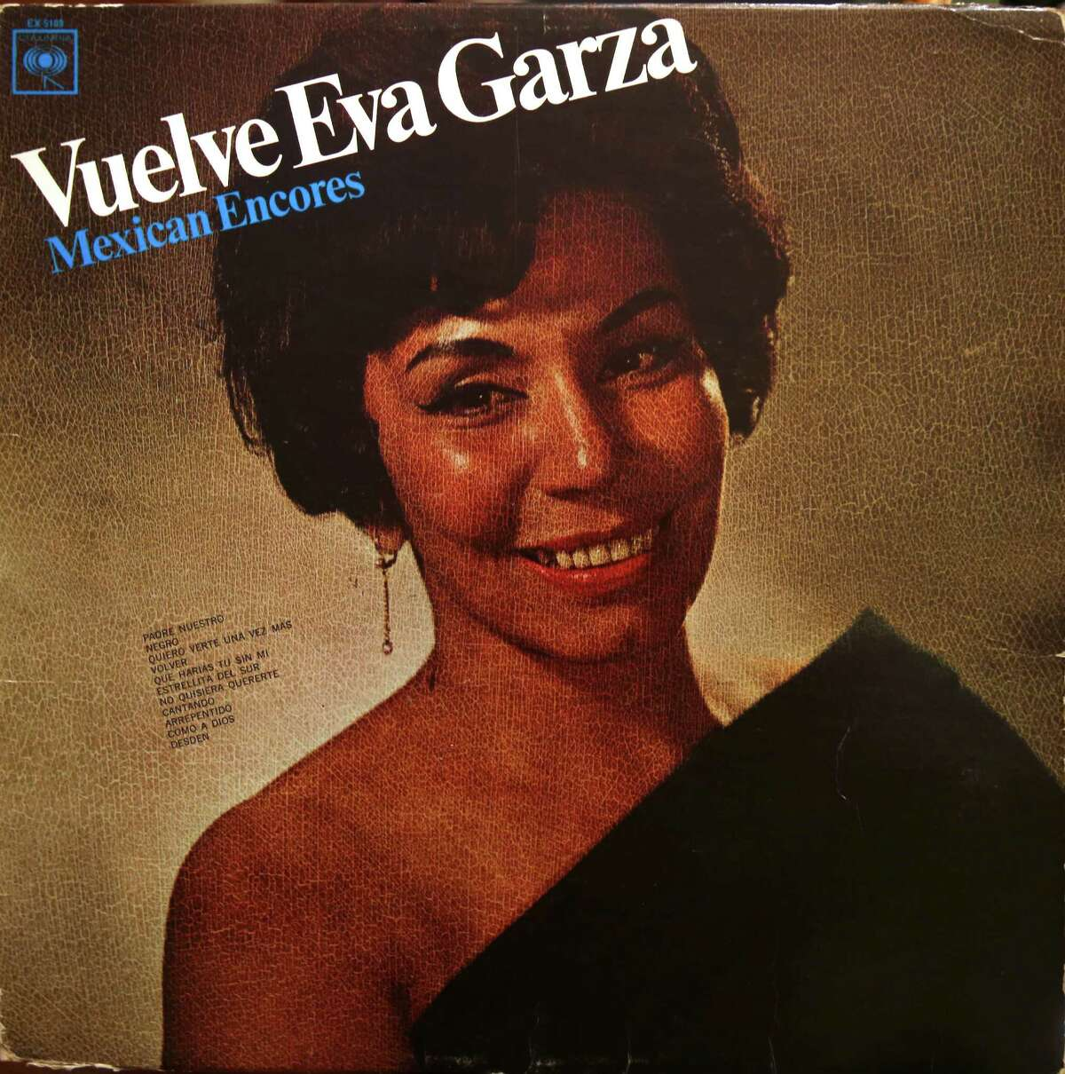 The Esperanza Peace and Justice Center is celebrating the life of singer and actress Eva Garza, seen here on one of her album covers, who's story has been almost been lost to history. Eva Garza was a singer and actress and during World War II she had her own CBS radio show.