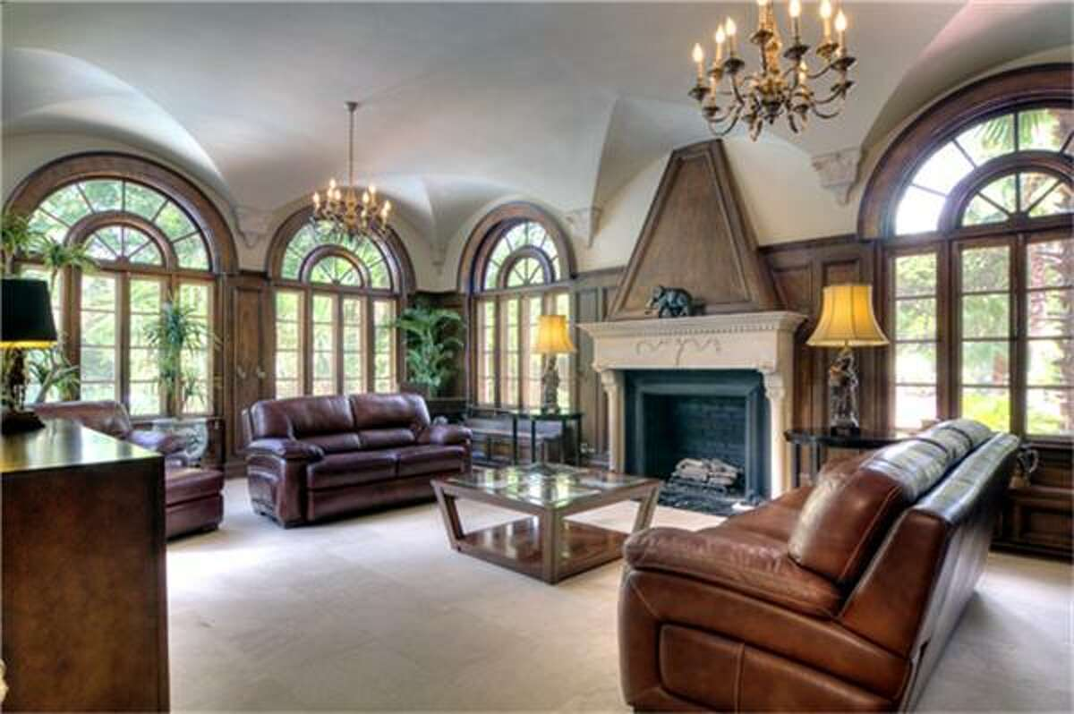 Located in the historic Shadyside community, this 7,751 square-foot Mediterranean estate is nestled on more than two acres. It sports plenty of unique features, including a tennis court and putt-putt golf course.