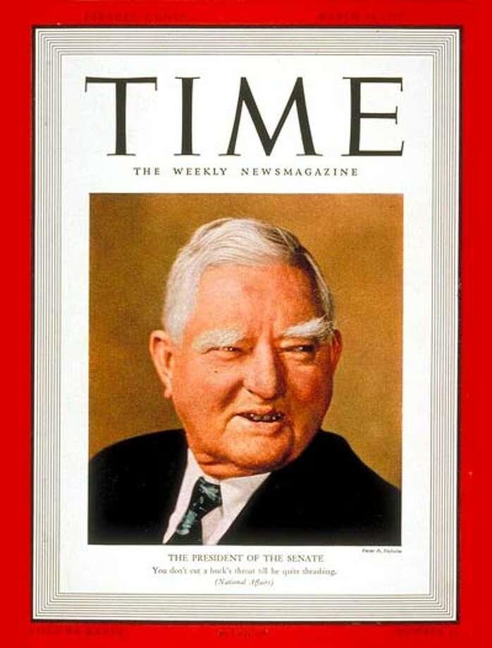 Vice President John Nance Garner graced the cover of Time Magazine twice.