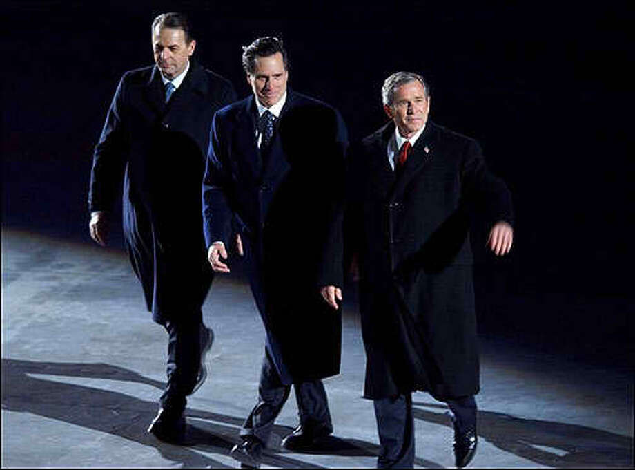 George W. Bush endorsed Mitt Romney in 2012.