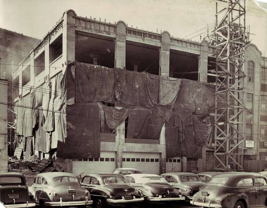Photo courtesy of Albany Institute of History & Art -- New Times Union building expansion February 21, 1950.