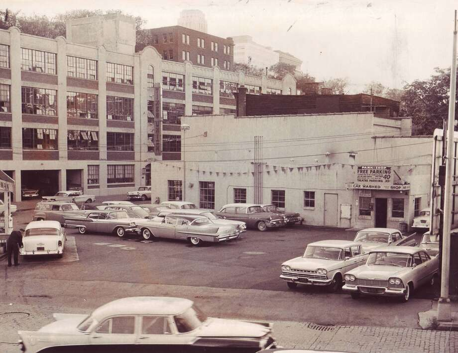 Times Union Sheridan Avenue Plant and Minute Man Park. 1950s. Albany Insitute of History and ARt.