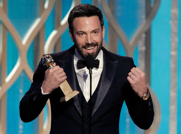 Ben Affleck winning one of his Golden Globes for 'Argo' / 2013 NBCUniversal Media, LLC