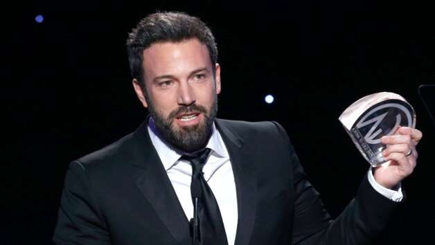 Ben Affleck in producer mode accepting the Producers Guild Award for best picture