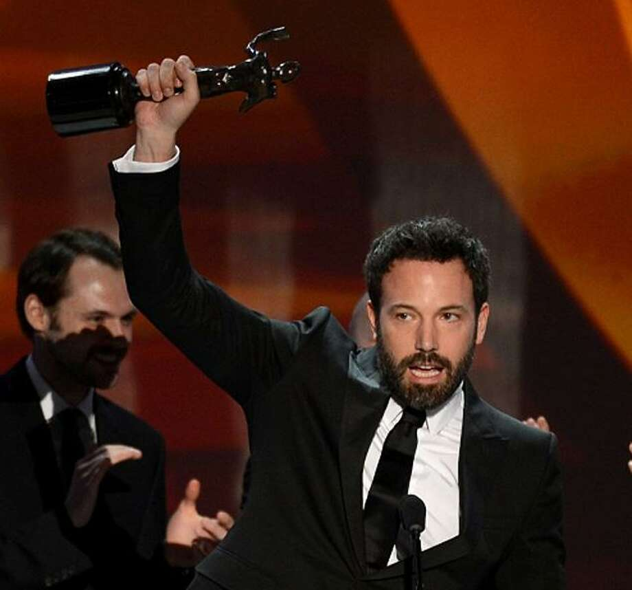 Leading the cast of 'Argo' to the best ensemble prize at the Screen Actors Guild Awards