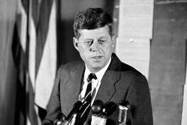 10. John Fitzgerald Kennedy     Net worth:  $1 billion (never inherited his father's fortune)    Source: 24/7 Wall Street