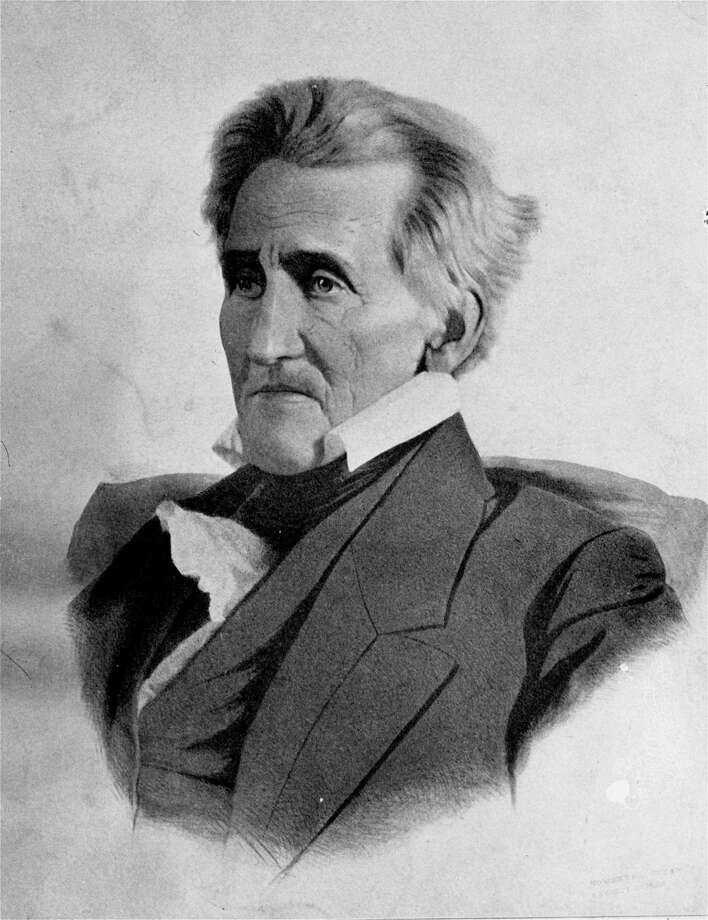 JacksonAndrew Jackson was considered the people's president, which didn't always work in his favor. On his Inauguration Day in 1829, he threw an open house at the White House. Tradition (or one of his enemies) says it turned into such a raucous, out-of-control event that Jackson had to escape through a window.  Photo: AP / AP