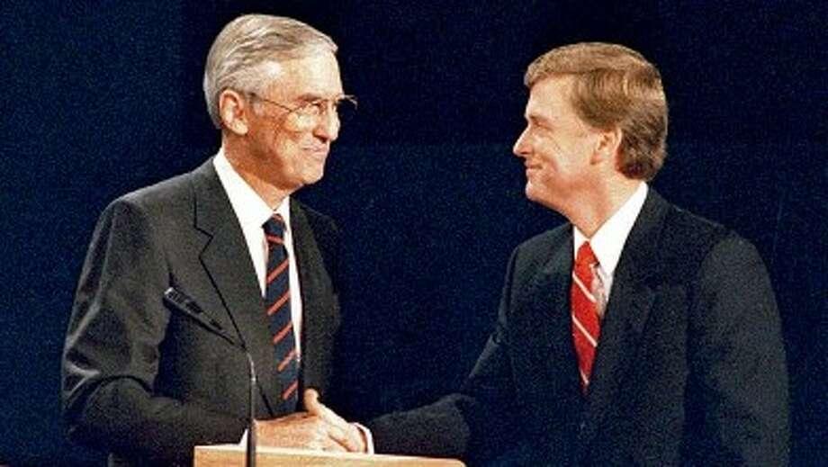 Texas Sen. Lloyd Bentsen famously debated Dan Quayle in 1988.