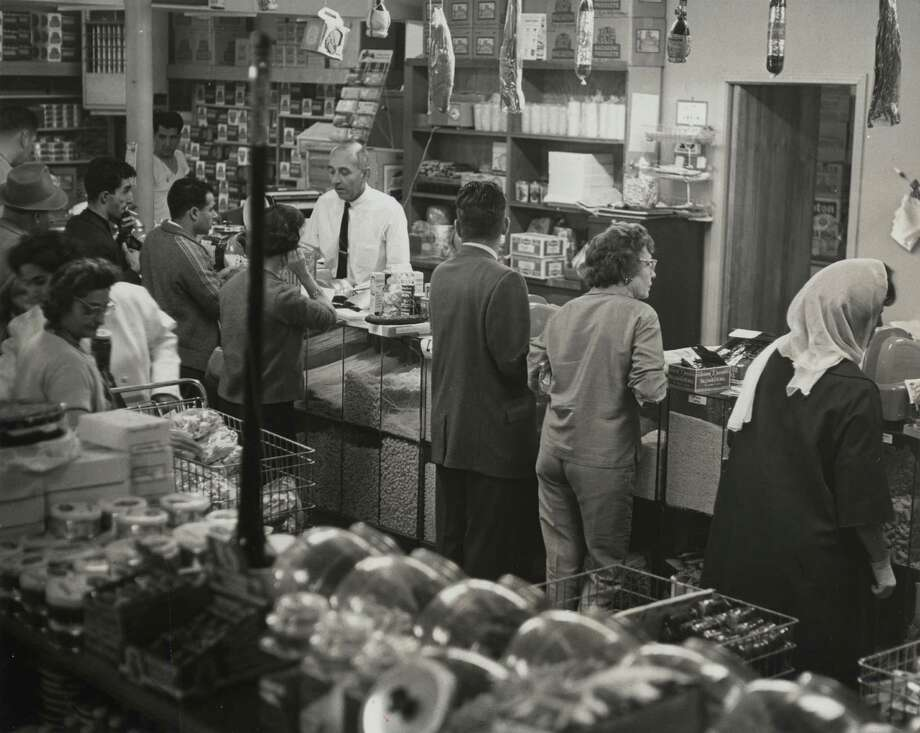 """Antone's Import Co. My wife is Armenian and she and her family have been going there for six generations. Way back when it was one of the only places you could get Middle Eastern spices, much less food."" - Chronicle staffAntone's Import Co. in 1963 Photo: Houston Chronicle / Houston Post Files"