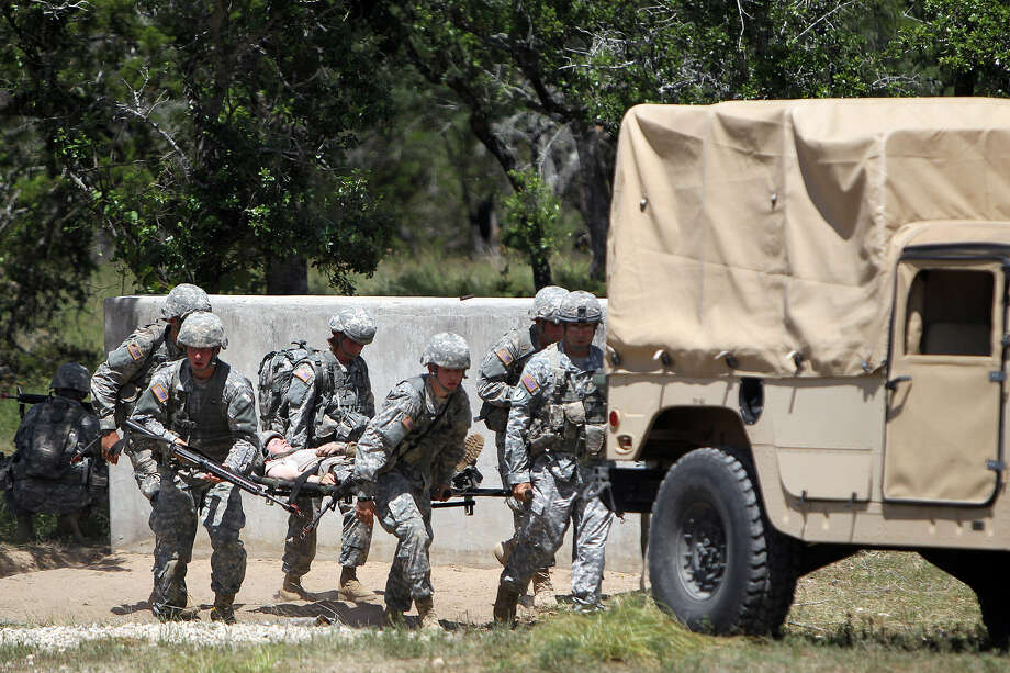 Camp Bullis is the site for a variety of military training. This month, the U.S. Army North's Contingency Command Post, Task Force-51, spent a week training to provide support in case of a catastrophic hurricane. Photo: File Photo, San Antonio Express-News