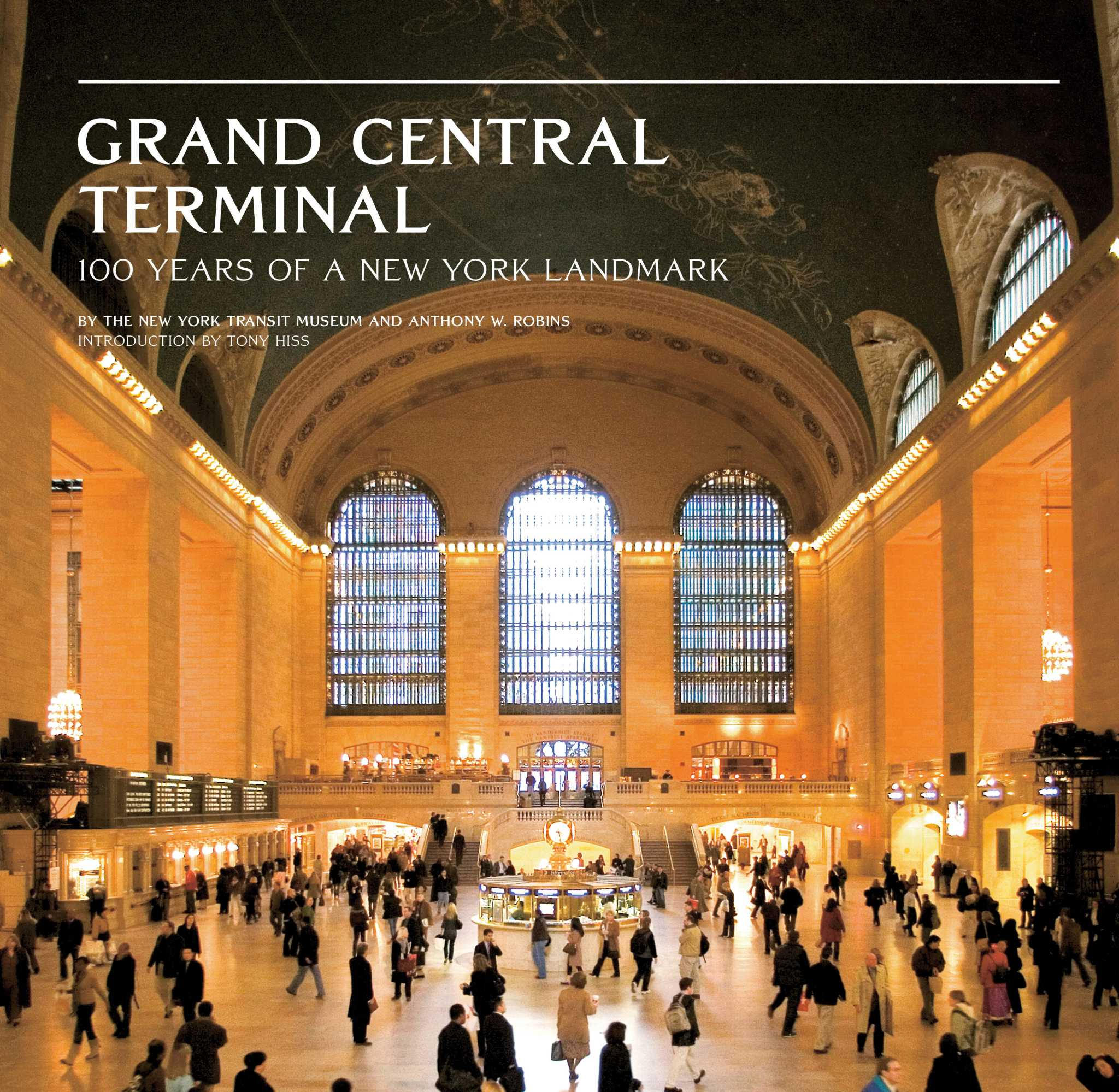 text chart 100 years of Grand Central history