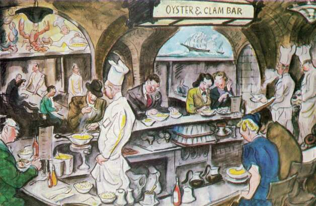 The Oyster Bar in Grand Central Terminal opened in 1913, the same year the train terminal opened. The history of GCT is charted in a new book written by Anthony W. Robins. Photo: Contributed Photo