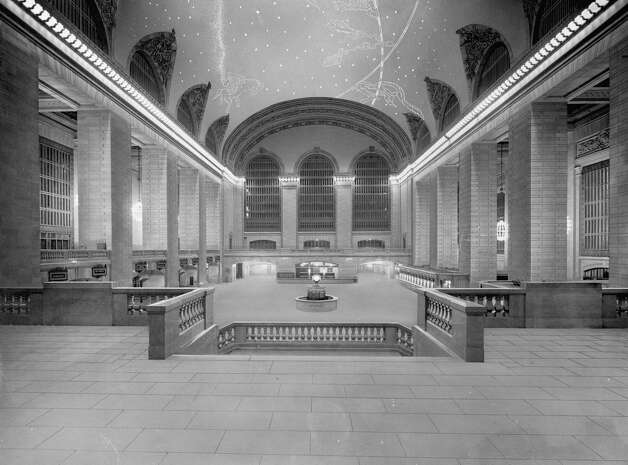 "The just-completed Grand Central Terminal awaits its first visitors in 1913 in this picture from a new coffee table book ""Grand Central Terminal: 100 Years of a New York Landmark."" Photo: Contributed Photo"