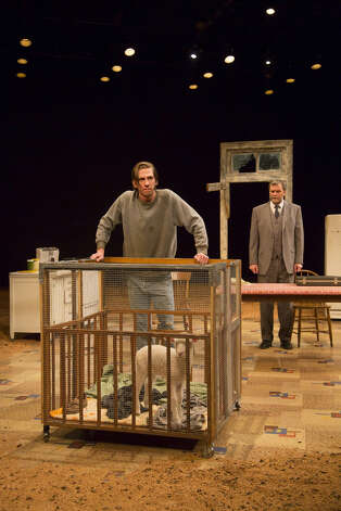 "Peter Albrink and John Procaccino are in the Sam Shepard play ""The Curse of the Starving Class,"" running through March 10 at Long Wharf Theatre in New Haven. Photo: Contributed Photo"