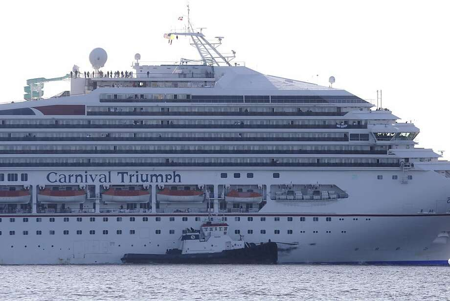 Carnival Cruise Lines backs the Coast Guard's findings about the source of fire on the Triumph. Photo: Gerald Herbert, Associated Press