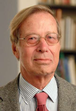 This is an undated file photo of Ronald Dworkin provided by New York University. Dworkin, the American philosopher and constitutional law expert best known for articulating the principle that the most important virtue the law can display is integrity, has died. His family said Dworkin died of leukemia in London early Thursday, Feb. 14, 2013. He was 81. (AP Photo/New York University, Leo Sorel) Photo: Leo Sorel, Associated Press