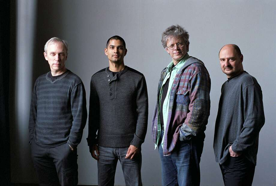 Kronos Quartet (from left): Hank Dutt, Jeffrey Zeigler, David Harrington, John Sherba. Photo: Michael Wilson