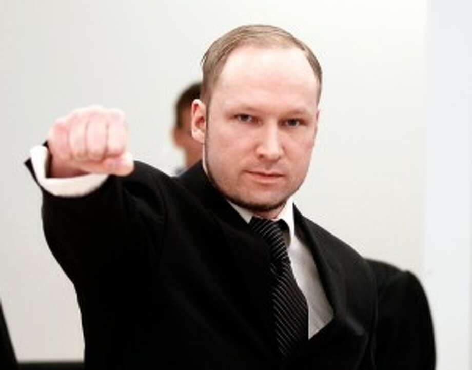 In May 2012, the brother of one of the many victims in the 2011 Norway attacks threw a shoe at now-convicted mass murderer Anders Behring Breivik during his trial. The shoe ended up hitting one of Breivik's lawyers.