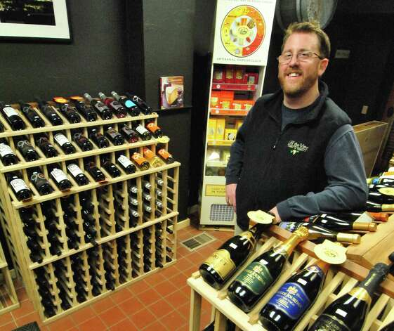 John Noakes, owner of Off the Vine in Norwalk. Photo: Jordan Osterhout/For The Norwalk