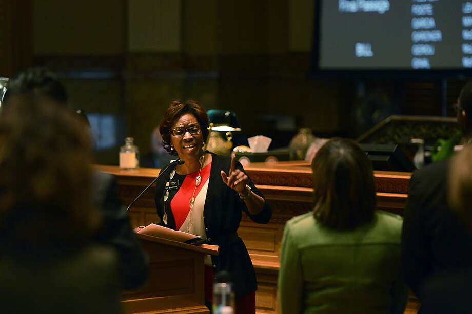 Colorado state Rep. Rhonda Fields, who represents Aurora, backs the ban on large-capacity magazines. Photo: Joe Amon, Associated Press