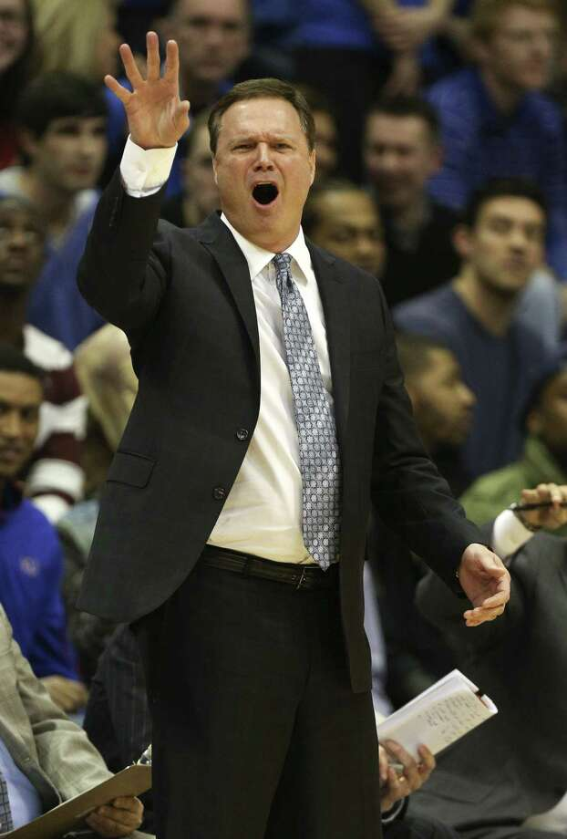 Kansas coach Bill Self said his team has played with more energy after snapping a three-game slump. Photo: Ed Zurga / Associated Press