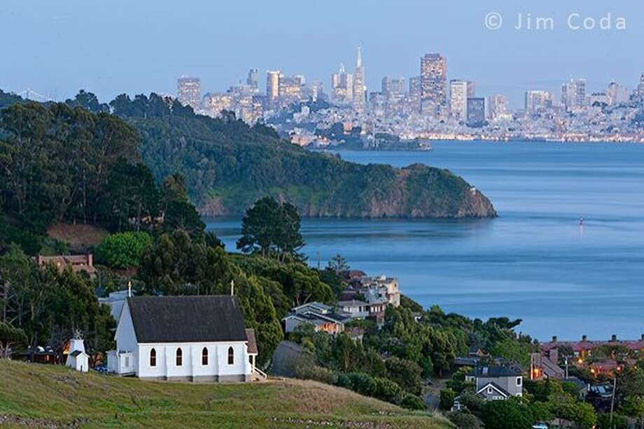 This sweet church is one of the last examples of original Carpenter Gothic architecture still in existence in California. Built in 1888, it stands atop a bucolic hillside setting in Tiburon, part of the 122-acre John Thomas Howell Wildflower Preserve. The hill provides the views, and the preserve provides the scenery for an intimate wedding ceremony.