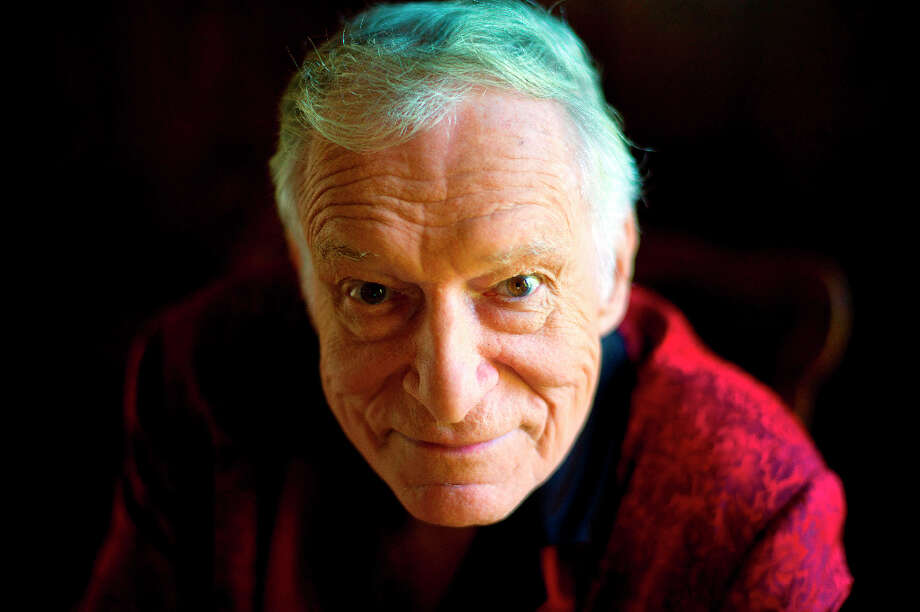Hugh Hefner: The Playboy founder's youngest son, Cooper Hefner, now 21, was born when Hefner was 66. Photo: Kristian Dowling, AP / 2011 AP