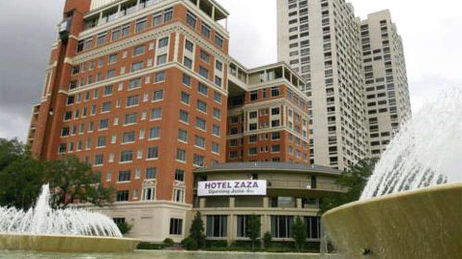 Hotel ZaZa Photo: Houston Chronicle