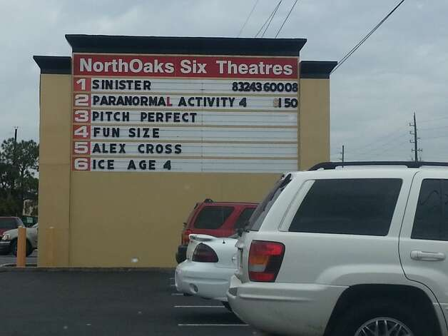 """I still go to North Oaks Cinema 6. This isn't something I'm proud of though. Place probably needs to be condemned. I saw ""Fatso"" in this theater! Think I found a piece of gum I put under the seat in 1978."" - Caleb Fraid Photo: Courtesy Jason McMillon"