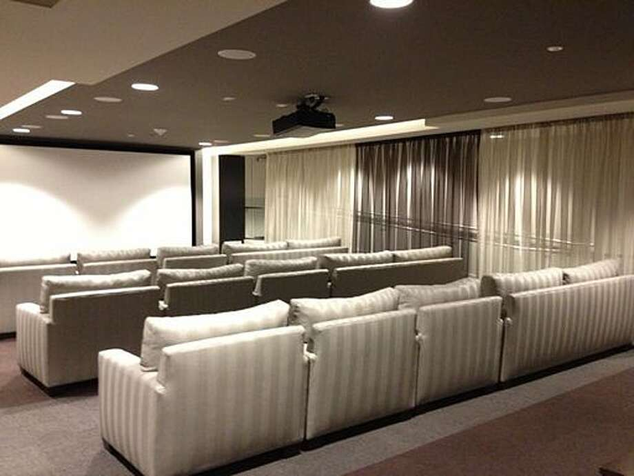 If you have a unit in Mission Bay at 435 China Basin St., maybe you could book the building's screening room for your party. Right now unit 339, with two bedrooms and two bathrooms, is for rent for $4,500 a month.