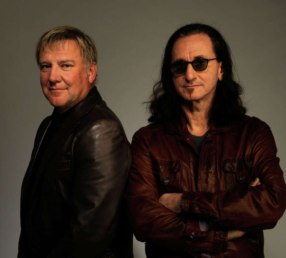 NEW YORK - APRIL 24:  Musicians Alex Lifeson and Geddy Lee from the band Rush attend the Tribeca Film Festival 2010 portrait studio at the FilmMaker Industry Press Center on April 24, 2010 in New York, New York. Photo: Larry Busacca, Getty Images For Tribeca Film Fe / 2010 Getty Images