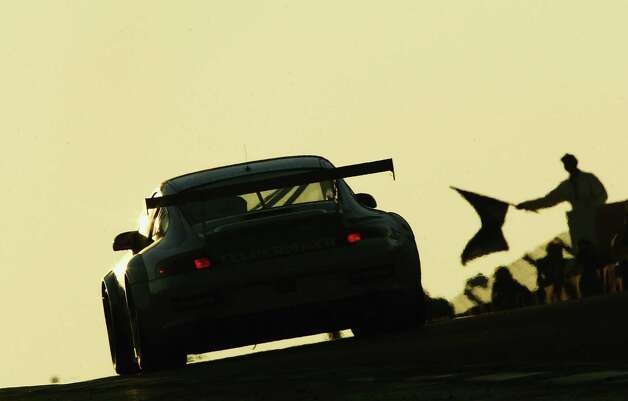 The Seikel Porsche 911 GT3-RSR of Philip Collin, David Shep, and Horst Felbermayr in action during the Le Mans 24 Hour Race at the Circuit Des 24 Heures Du Mans on June 19, 2005 in Le Mans, France. Photo: Paul Gilham, Getty Images / 2005 Getty Images