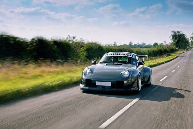 A Rauh-Welt Begriff modified Porsche 911 car, built by Vogue Auto Design in the UK. Photographed during a shoot for Fast Car Magazine, October 14, 2011. Photo: Fast Car Magazine, Getty Images / 2011 Future Publishing
