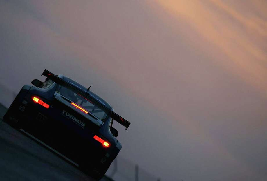 Wolf Henzier and Robin Liddell drives the #71 Porsche 911 GT3 RSR during the American Le Mans Series Generac 500 at Road America on August 11, 2007 in Elkhart Lake, Wisconsin. Photo: Christian Petersen, Getty Images / 2007 Getty Images