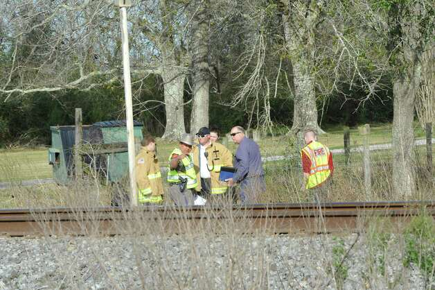 The Jefferson County Sheriff's Office, Union Pacific Railroad officials, fire and medical officials are at the scene of an accident on U.S. 90 in the area of China, where a train struck a loaded  18-wheeler. There is one reported death from the crash and the wreck happened at about 8 a.m. as the 18-wheeler with three construction workers were headed to a job site. The truck's trailer got stuck on the tracks, and two men tried to free the trailer while the third remained in the truck. The train struck the truck, killing one of the men outside the truck. The man inside the truck was taken by medical helicopter to Christus St. Elizabeth Hospital and is currently in critical condition. The third man was not injured.  Attempts to avoid debris in the road by passing vehicles resulted in a second wreck with two other vehicles. There were no injuries from that wreck.    Dave Ryan/The Enterprise