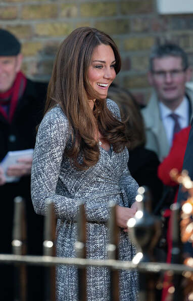Catherine, Duchess of Cambridge visits Hope House, an Action on Addiction women's treatment centre o