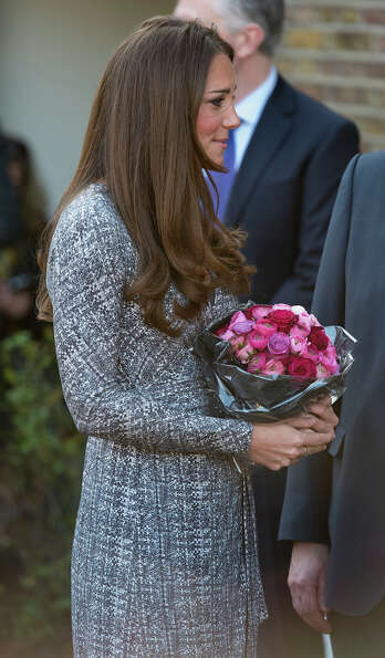 Catherine, Duchess of Cambridge visits Hope House an Action on Addiction women's treatment centre on