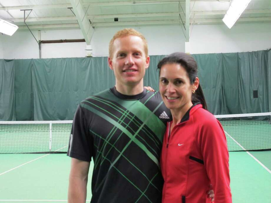Barbara and Victor Calaba of New Canaan have organized for the second consecutive year Play for Parkinson's at the New Canaan Racquet Club. The event, which will take place  on Saturday, March 2, is to raise funds for the Michael J. Fox Foundation for Parkinson's Research. Photo: Contributed