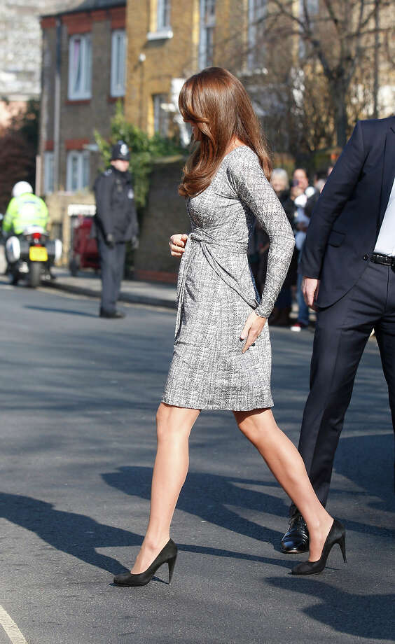 Catherine, Duchess of Cambridge visits Hope House, an Action on Addiction women's treatment centre on February 19, 2013 in London, England. Photo: Julian Parker, UK Press Via Getty Images / 2013 Julian Parker