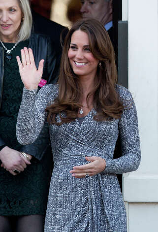 Catherine, Duchess of Cambridge visits Hope House, an Action on Addiction women's treatment centre on February 19, 2013 in London, England. Photo: John Phillips, UK Press Via Getty Images / 2013 John Phillips