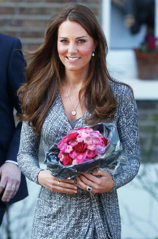 Catherine, Duchess of Cambridge visits Hope House, an Action on Addiction women's treatment centre, on February 19, 2013 in London, England. Photo: Julian Parker, Getty Images / 2013 Julian Parker