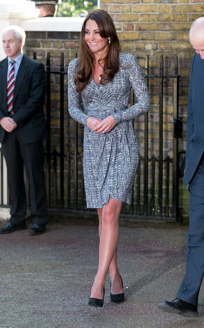 Catherine, Duchess of Cambridge visits Hope House, an Action on Addiction women's treatment centre on February 19, 2013 in London, England. Photo: Mark Cuthbert, UK Press Via Getty Images / 2013 Mark Cuthbert