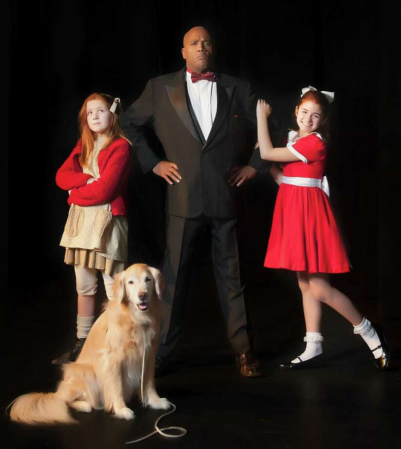 "The Houston Family Arts Center unveils its first-ever main-stage production of the musical ""Annie,"" starting March 1. Photo: Courtesy Of Houston Family Arts"