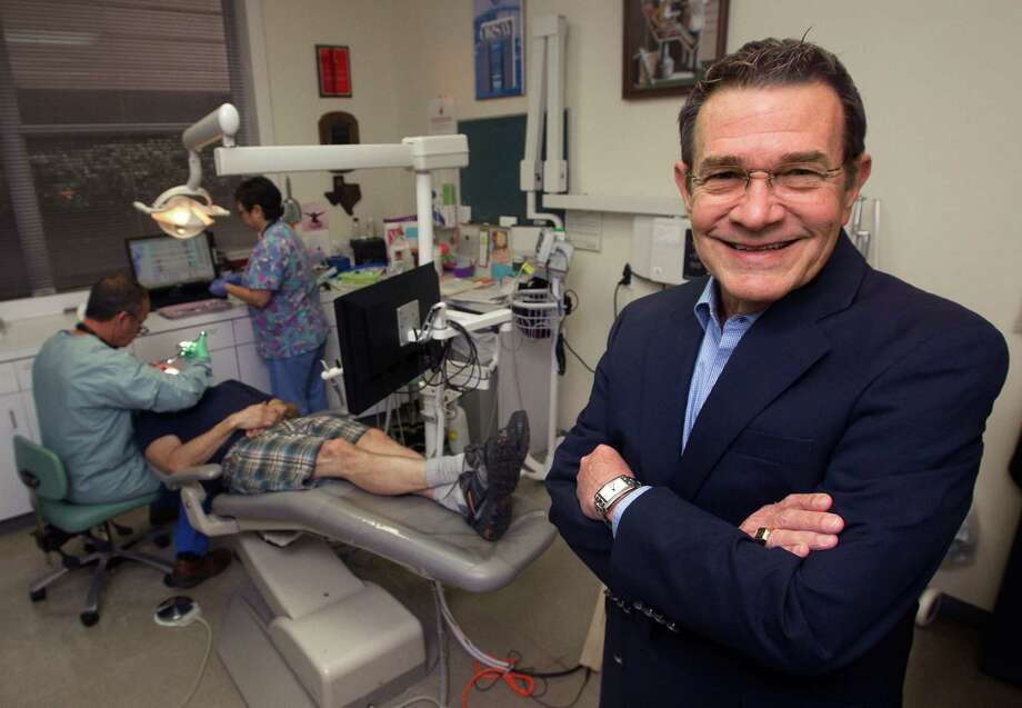 H. Joe Nelson III has been helping the Bering Omega dental clinic raise money for a new building. Photo: J. Patric Schneider, Freelance / © 2013 Houston Chronicle