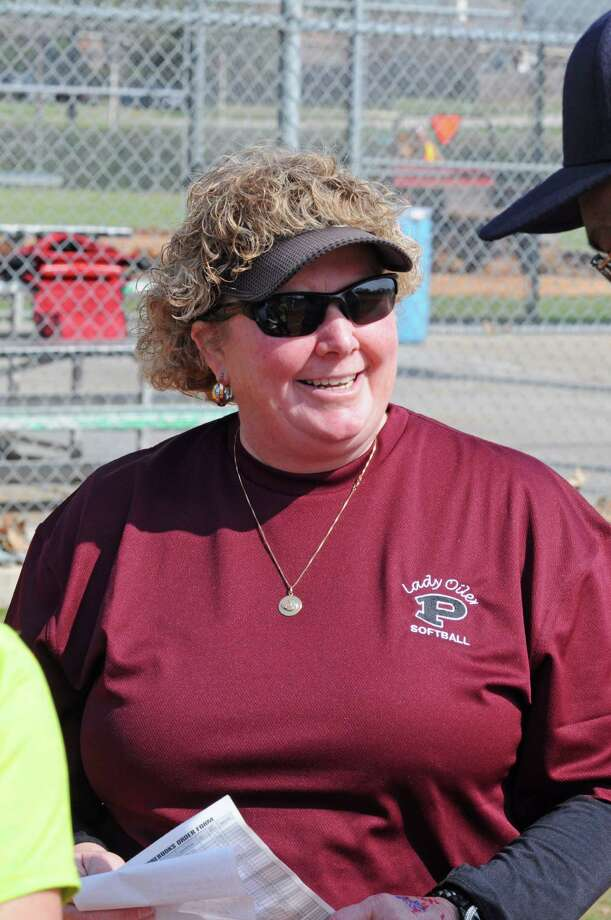 Pearland softball head coach Laneigh Clark at the Brenham Alumni Leadoff Classic on 2-15-13. Photo: L. Scott Hainline / freelance