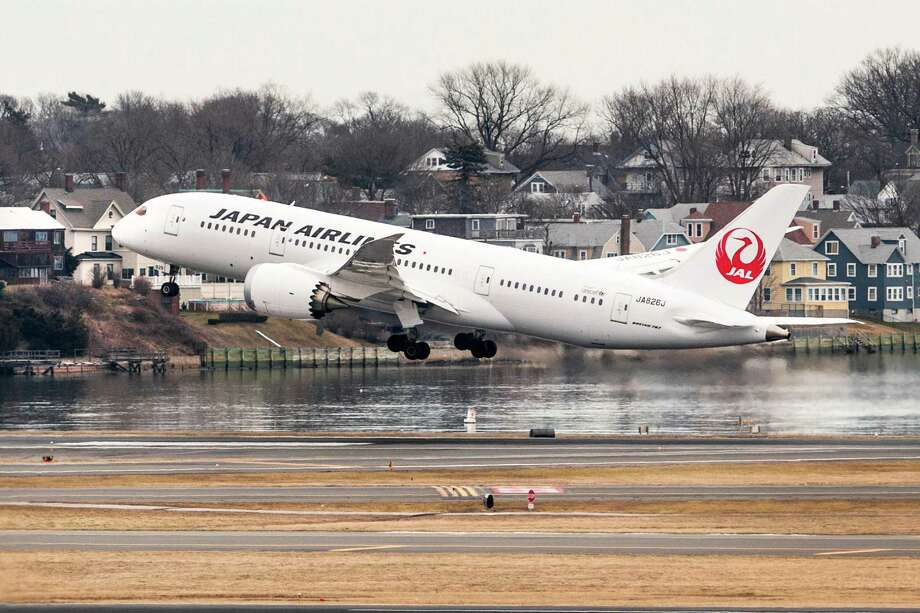 The top major international carrier was Japan Airlines, at 90.35 percent on time. The other finalists were Air New Zealand, All Nippon Airways, KLM Royal Dutch Airlines and Scandinavian Airlines. Photo: Boston Globe, Boston Globe Via Getty Images / 2013 - The Boston Globe