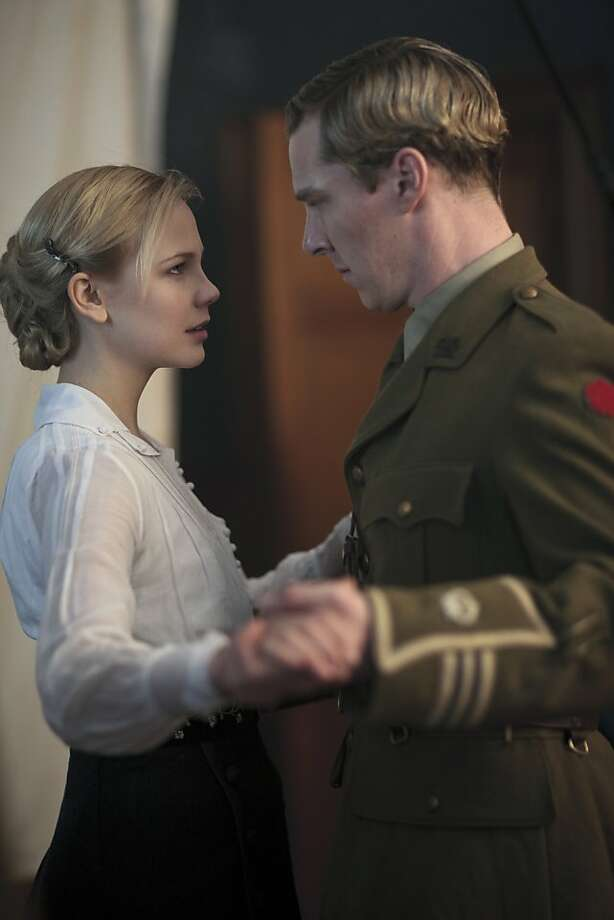 "Adelaide Clemens and Benedict Cumberbatch in the HBO series ""Parade's End."" Photo: Nick Briggs, HBO"