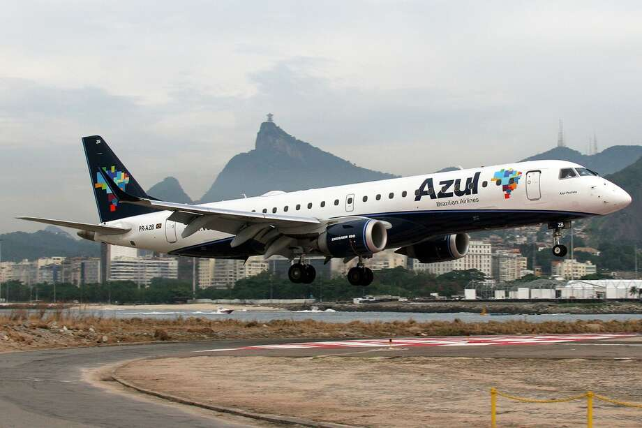 The top major South American carrier was Azul, at 80.04 percent on time. The other finalists were Copa Airlines, Gol Linhas Aereas Inteligentes, LAN Peru and TAM Linhas Aereas. Photo: Patrick Mutzenberg/Wikimedia Commons
