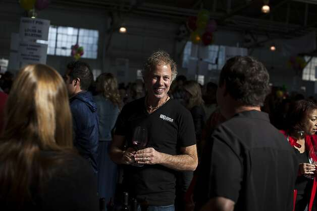 John Gilpin, of Quercus Wines, tastes wines at the San Francisco Chronicle Wine Competition at Fort Mason in San Francisco, Calif., Saturday, February 16, 2013. Photo: Jason Henry, Special To The Chronicle